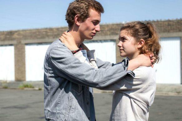 """Kadr z filmu """"Zatrzymać"""" (reż. Guillaume Senez)"""