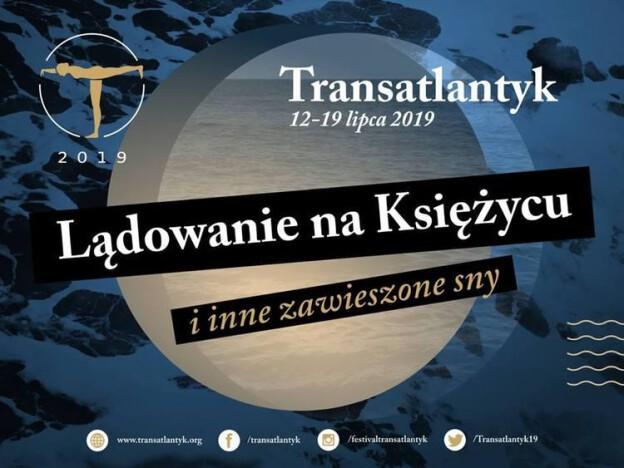Plakat 9. Międzynarodowego Festiwalu Filmowego Transatlantyk