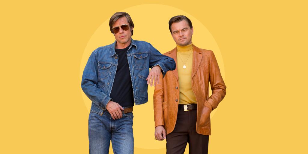 Główni bohaterowie filmu - Rick Dalton (Leonardo di Caprio) i Cliff Booth (Brad Pitt)