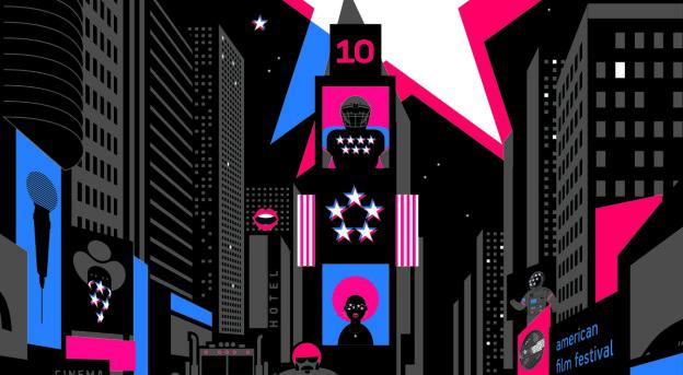 Plakat 10. American Film Festival