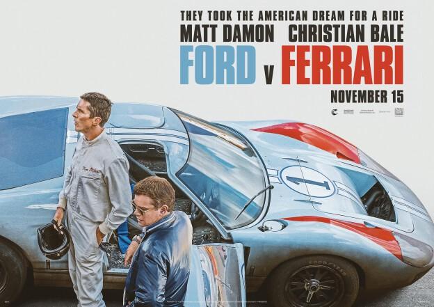 "Plakat filmu ""Le Mans '66"""